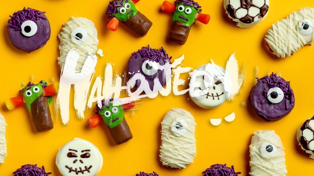 万圣节·小怪兽糖果·制作大全