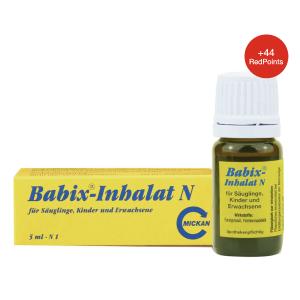 5ml折后€4.46 原价€6.24Babix 通鼻精油 草药配方 安全有效 宝宝可用