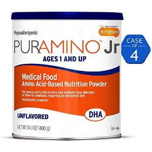 Puramino Jr, 低过敏性配方幼儿奶粉,56.4盎司