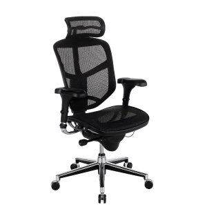 WorkPro Quantum 9000 Ergonomic Chair With Headrest