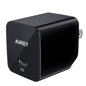 $10.99AUKEY USB C PD Charger with 18W