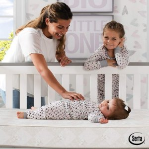 Amazon Serta Tranquility Eco Firm Innerspring Crib and Toddler Mattress