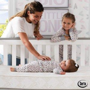 $96(原价$149.99)Serta 婴幼儿防水床垫,天然安全