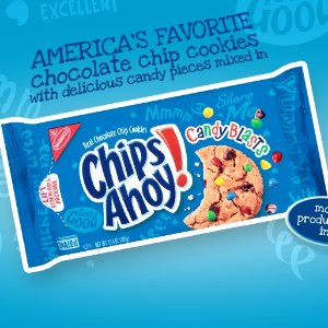 现价$2(原价$3.29)Chips Ahoy 趣多多 迷你缤纷逗巧克力曲奇饼干 225g