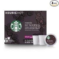 Starbucks Sumatra 深焙K cup咖啡胶囊 96颗