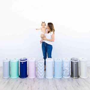 buybuy Baby Ubbi Steel Odor Locking Diaper Pail, No Special Bag Required