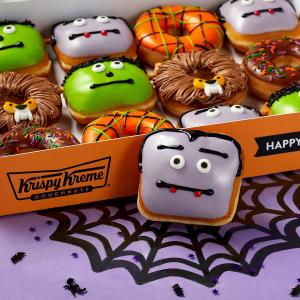 10月每周六第2盒仅$1Krispy Kreme 2020万圣节主题甜甜圈上新,限时开售