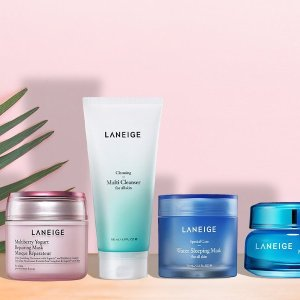 Receive a Summer Hydration Kitwith any $75 purchase @Laneige