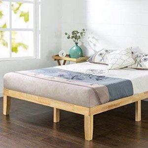 $136.36史低价:Zinus Moiz 14英寸硬木结构床架