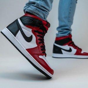 已发售Nike官网 AIR JORDAN 1 SATIN RED