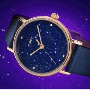 TimexCelestial Opulence 夜光时尚腕表