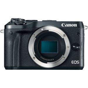 $299 包邮Canon EOS M6 APS-C 无反相机 机身