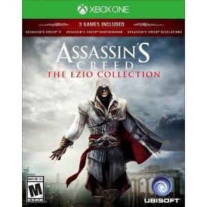$16.99经典三部曲《刺客信条 Ezio 合集》Xbox One 实体版