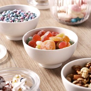 DOWAN 10 Ounce Small Bowl, Porcelain Dip Bowls