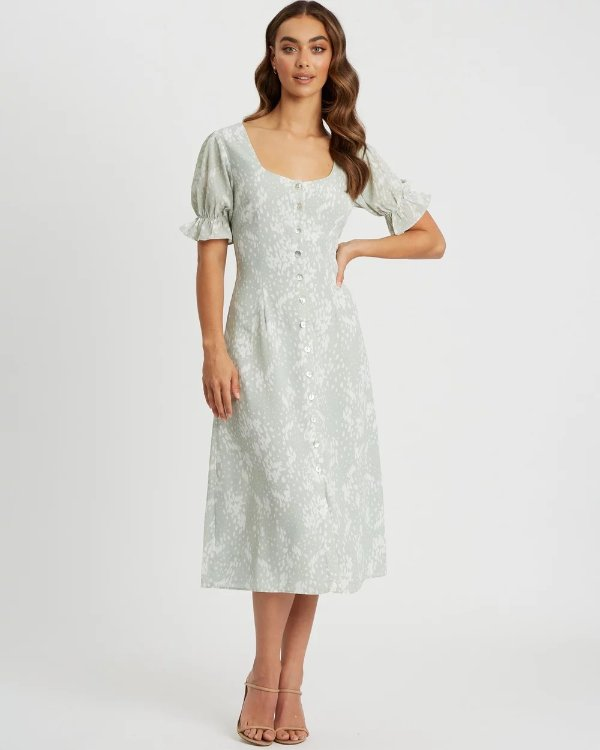 Ellen印花连衣裙