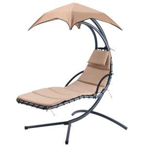 $115.99庭院带蓬休闲摇椅 多色可选