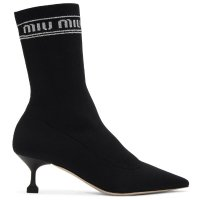Miu Miu - 中跟袜靴