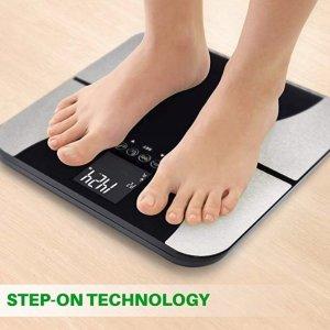 $25.99包邮,减肥路上的伴侣Smart weigh 数字智能LED屏体脂称