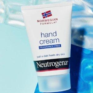 低至$6Neutrogena 精选护肤一键收 收经典卸妆巾 大S同款护手霜