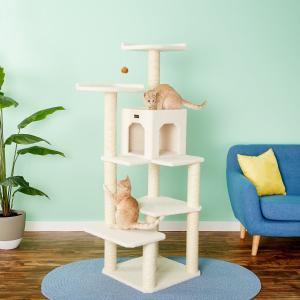 低至9折 + 额外8折Armarkat 多款猫树促销