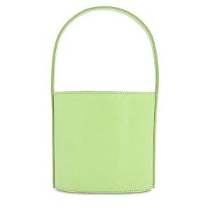 Staud牛油果色水桶包