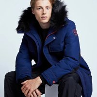 Hunter 毛领派克大衣