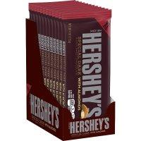 Hershey's 杏仁果粒黑巧克力 12条装