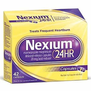 Nexium 24HR (20mg, 42 Count) Delayed Release Heartburn Relief Capsules