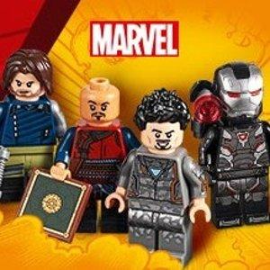 送 复仇者联盟4个人偶套装即将截止:LEGO®官网 又有新品上市,精选套装2倍积分