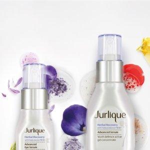 买3免1 + 额外9折Jurlique 精选护肤单品热卖 收护手霜的好机会