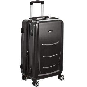 $37.39AmazonBasics 硬壳万向轮行李箱20寸