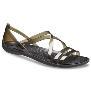 Crocs满$75减$15 Isabella 凉鞋
