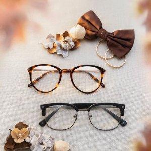 镜框3.5折+包邮独家:GlassesUSA 眼镜镜框热卖
