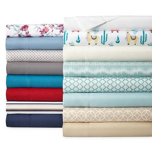 From $6.79Home Expressions Microfiber Easy Care Wrinkle Resistant Sheet Set