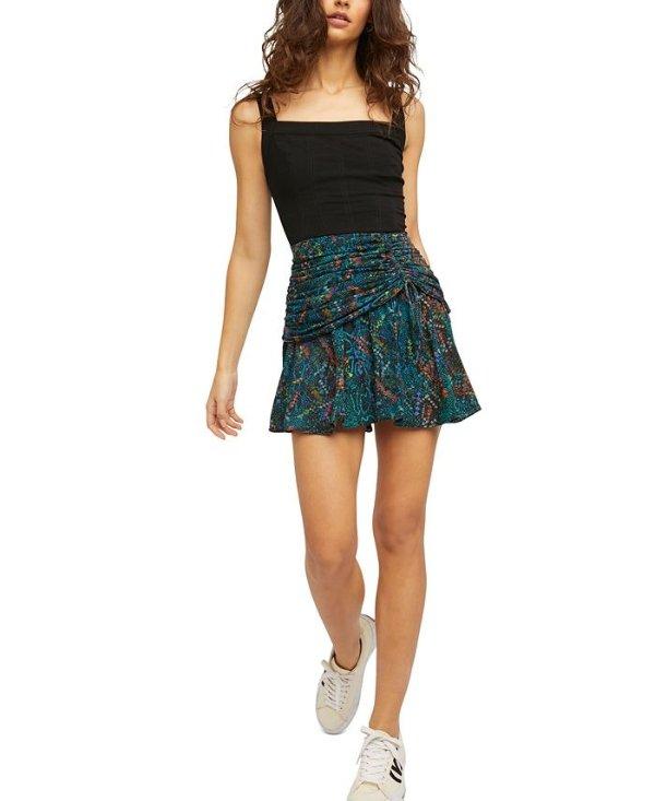 mini短裙