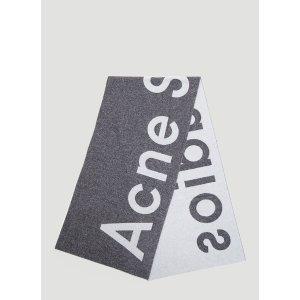 Acne Studios热门款logo围巾