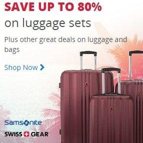 低至2折最后一天:Samsonite 新秀丽等品牌行李箱特卖
