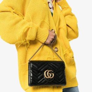 现价仅¥10242起+直邮中国Gucci GG Marmont Matelassé 迷你款包包