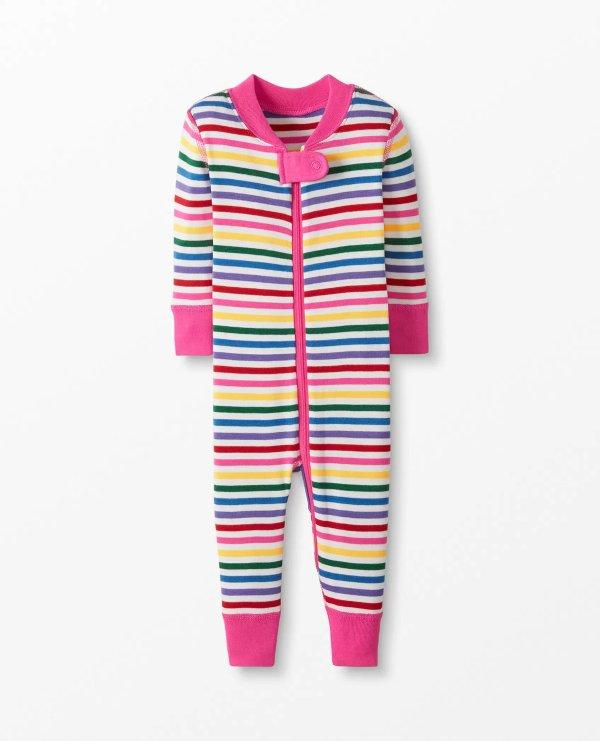 婴儿有机棉睡衣