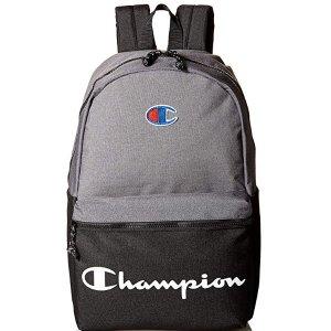 $27.52(原价$40)Champion Logo款拼接配色双肩运动背包 多色可选