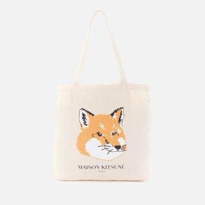Maison Kitsune满€234减€58.5小狐狸托特包
