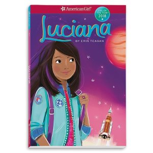 American GirlLuciana 娃娃故事书