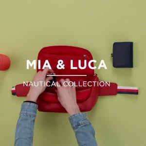 8折 鳄鱼纹钱包$17独家:Mia & Luca 简约耐用皮质包 多款式多选择 你心动了吗?