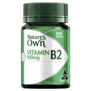 nature's ownVitamin B2 100mg 100粒