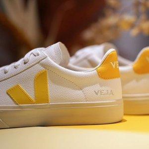 6折起 €67即可收小白鞋Veja 环保小白鞋V字温柔色超吸睛 Rick Owens联名款也在线