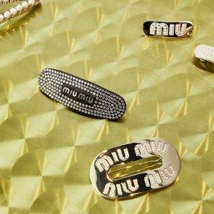$355起 收超美水晶耳环Miumiu 仙女风格配饰专场 穿搭加分让人眼前一亮