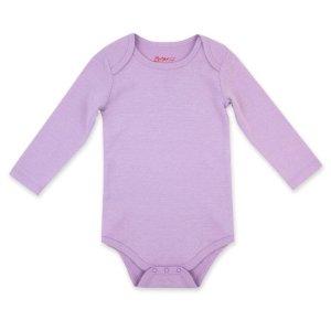 ZutanoOrganic Cotton Rib Bodysuit - Lilac