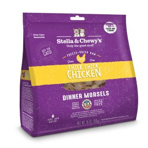 Stella & Chewy'sGrain Free Chick Chick Chicken Dinner Morsels Freeze Dried Raw Cat Food | Petflow