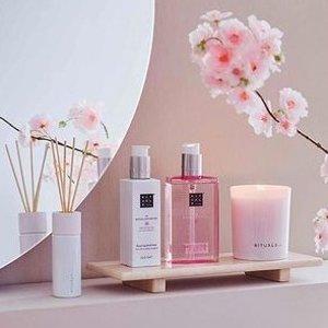 限时8折 €6.7收樱花泡沫沐浴Rituals 荷兰小众护肤大促 收高颜值樱花系列 仙女就要香