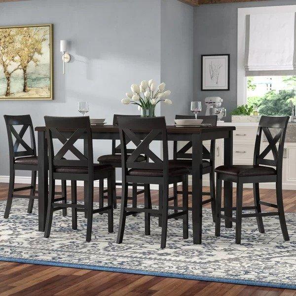 餐桌餐椅7件套